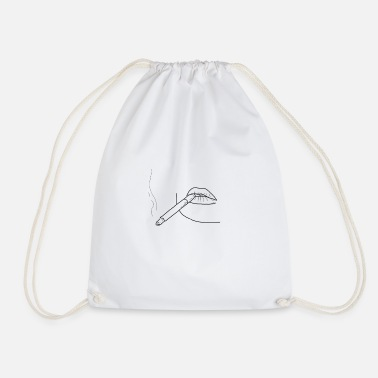 Smoker smoker - Drawstring Bag