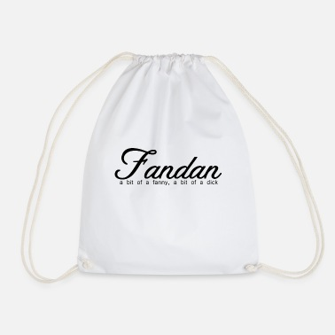 Humour Scottish Banter - Fandan - Drawstring Bag
