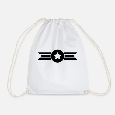 flying star - Drawstring Bag