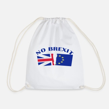 Brexit no brexit - Drawstring Bag