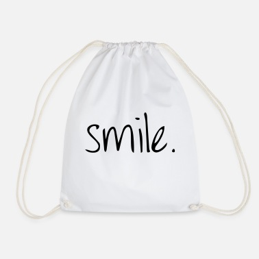 Laugh Laugh - Drawstring Bag