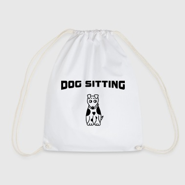 Dog Sitting - Dog Sitting - Drawstring Bag