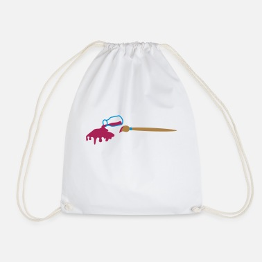 Potty Potty paint - Drawstring Bag