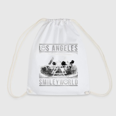 Smileyworld 'Los Angeles Skyline' - Drawstring Bag
