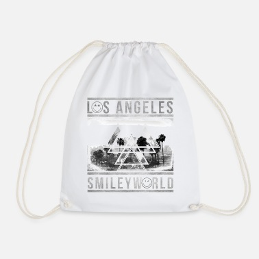 Officialbrands Smileyworld 'Los Angeles Skyline' - Drawstring Bag