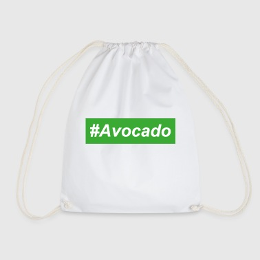 #Avocado Trendy Street Wear Vegan Gift Idea - Mochila saco