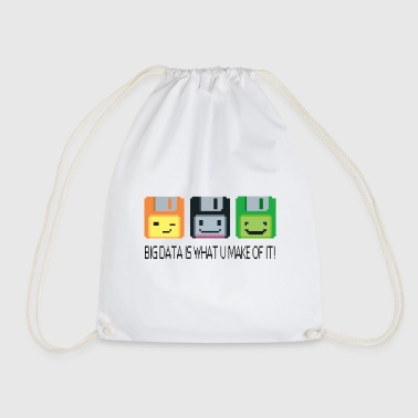 Floppy Disk - 4Bit Floppy Disc - Drawstring Bag