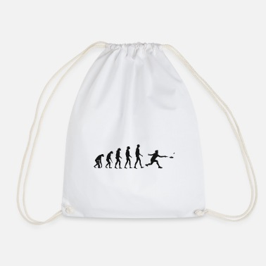 Birthday Shuttlecock Evolution Badminton Evolution Gift - Drawstring Bag