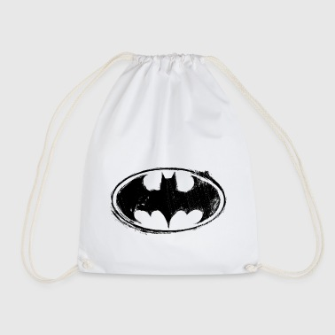 Batman Logo black retro - Gymnastikpåse