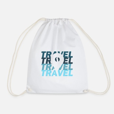Travel Travel travel traveler - Drawstring Bag