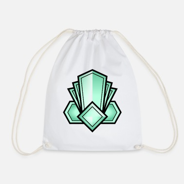 Art Deco Art Deco Crystal - Drawstring Bag