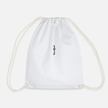 TGIF (Transperant background) - Drawstring Bag
