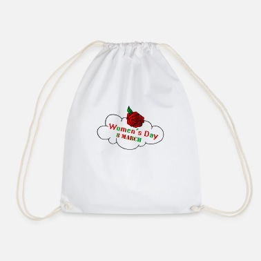 Womens Day Women's Day - Drawstring Bag
