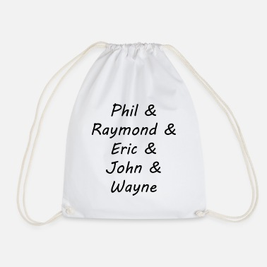 9 Darter Darts Legends - Black - Drawstring Bag