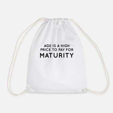 Mature Maturity - Drawstring Bag