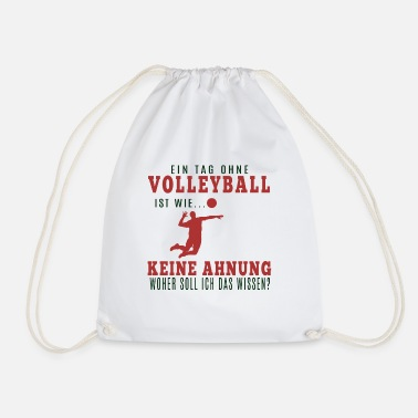 Volley Maillot de volley-ball · Club de volley-ball · Cadeau Volley - Sac à dos cordon