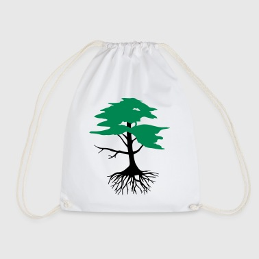 Tree with roots, 2 colors - Gymtas
