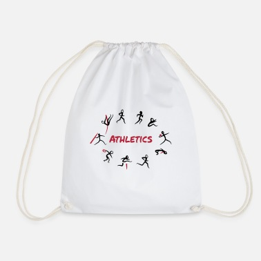 Track And Field Athletics, Track and Field, Decathlon - Drawstring Bag