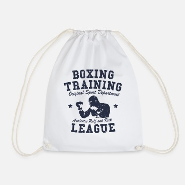 Boxing Training boxing training - Drawstring Bag