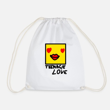 Teenager Self Picture Girl: Teenage Love - Sac de sport léger