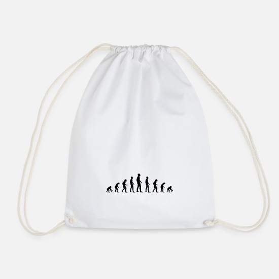 Citizen Bags & Backpacks - evolution - Drawstring Bag white