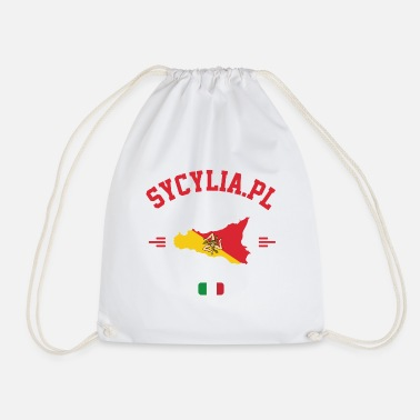 Rome Sicily in your heart - Drawstring Bag