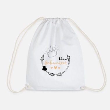Little Sister little sister - Drawstring Bag