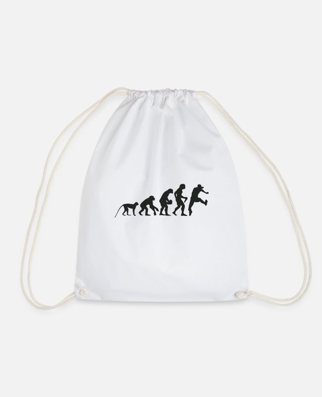 Competition Bags & Backpacks - Evolution running - Drawstring Bag white
