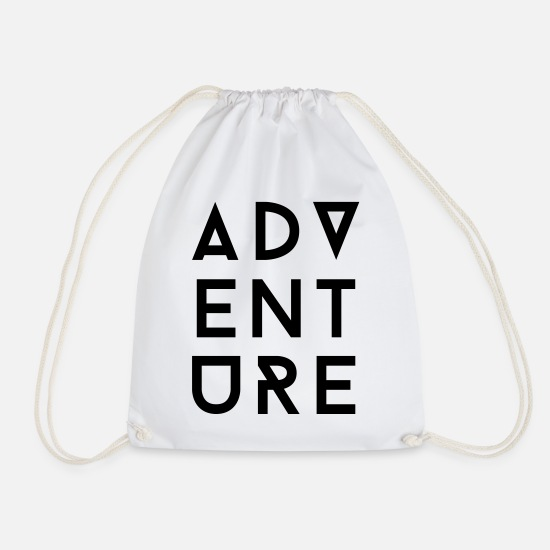 Collection Bags & Backpacks - AD Adventure II - Drawstring Bag white