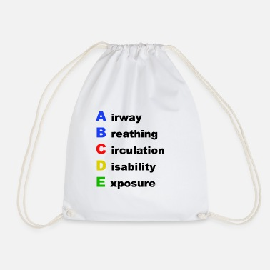 Scheming ABCDE scheme - Drawstring Bag