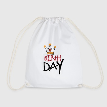 Birthday BIRTHDAY BIRTHDAY CHILD - Drawstring Bag