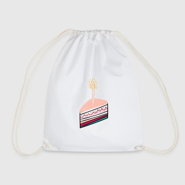 Birthday birthday cake birthday - Drawstring Bag