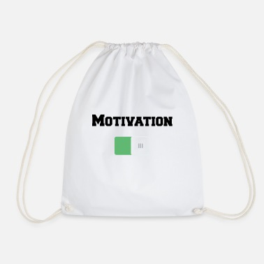 Motivational Motivation On Motivations Motiv Weiss - Drawstring Bag