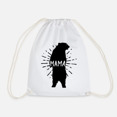 Mothers Day Mama Bear Mothers Day - Mother 's Day - Drawstring Bag