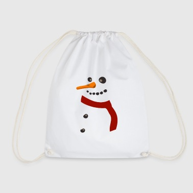 Snowman - Snowman Christmas Winter Frost Cold - Gymtas