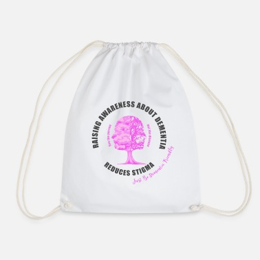 Mixed Dementia Reducing the Stigma of Dementia - Drawstring Bag