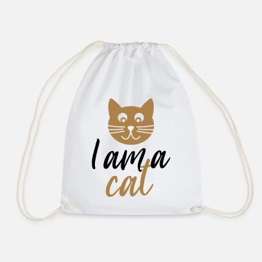 I am a Cat Chat - Sac de sport léger