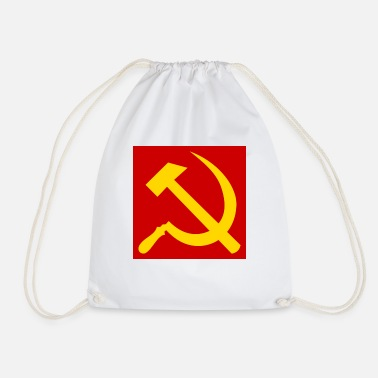 Sickle Hammer and sickle - Drawstring Bag