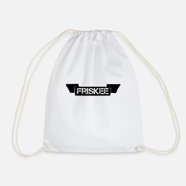 Freestyle Friskee crest sports gift - Drawstring Bag