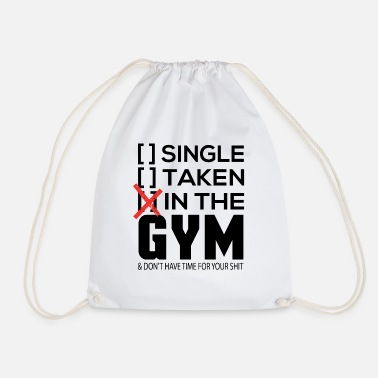 Sports Gym Training Workout Fitness - Drawstring Bag