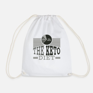 Citations Keto Diet Diet Ketogenic Diet Cadeau De Nourriture - Sac de sport léger