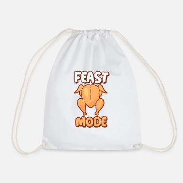 Feast Day Feast mode - Drawstring Bag
