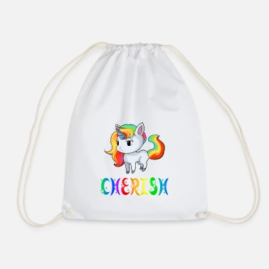 Cherish Unicorn Cherish - Drawstring Bag