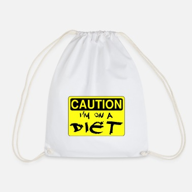 Diet Diet - Drawstring Bag