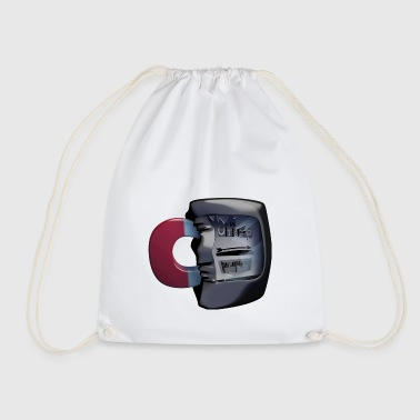 Electricity meter - electrical engineering - Drawstring Bag
