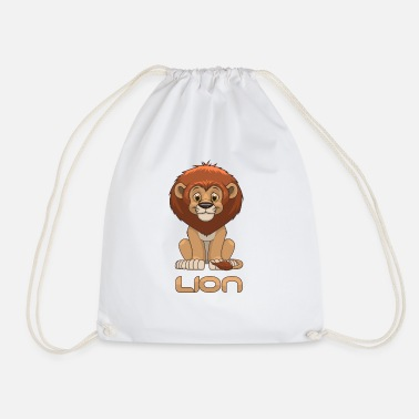 Lion Lion - lion - Drawstring Bag