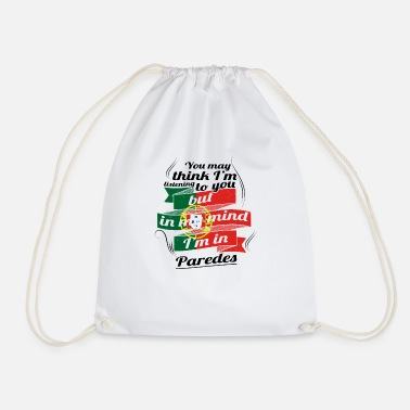 Paredes HOLIDAY HOME ROOTS TRAVEL IN Portugal Paredes - Drawstring Bag
