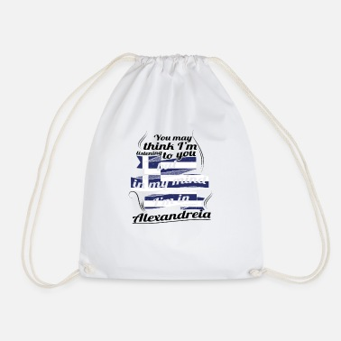 Greece GREECE GREECE TRAVEL IN IN Greece Alexandre - Drawstring Bag