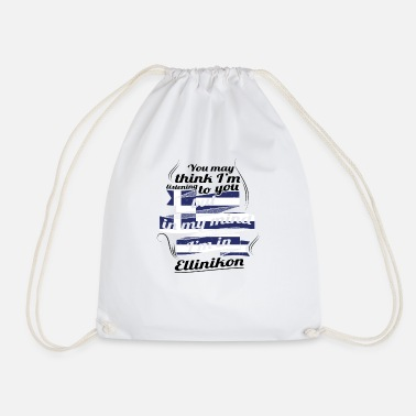 Greece GREECE GREECE TRAVEL IN Greece Ellinikon - Drawstring Bag