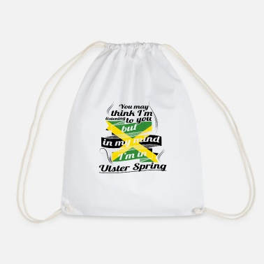 Ulster HOLIDAY JAMESICA ROOTS TRAVEL IN Jamaica Ulster - Drawstring Bag